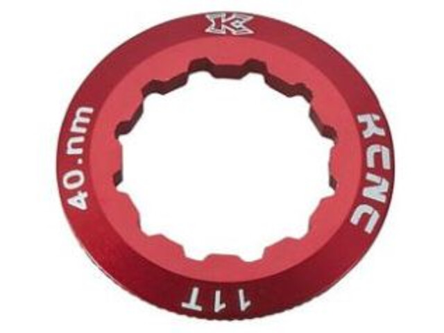 KCNC Campagnolo Cassette Lockring 10/11/12-speed 11T, rosso